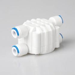 """MyXL Waterfilter delen 1/4"""" od buis automatische uitschakeling 4-weg klep drukregelaar aquarium waterzuiveraar omgekeerde osmose machine"""