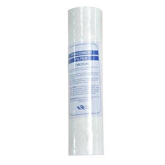 4 stks Waterzuiveraar 10 Inch 1 Micron Sediment Waterfilterpatroon PP Katoen Filter Water Filter Systeem Water Polypropyleen
