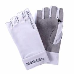 MyXL Maximumcatch Vissen Handschoenen Maat L/XL Vliegvissen Uv Zonwering Half Vinger 50 + UPF Outdoor