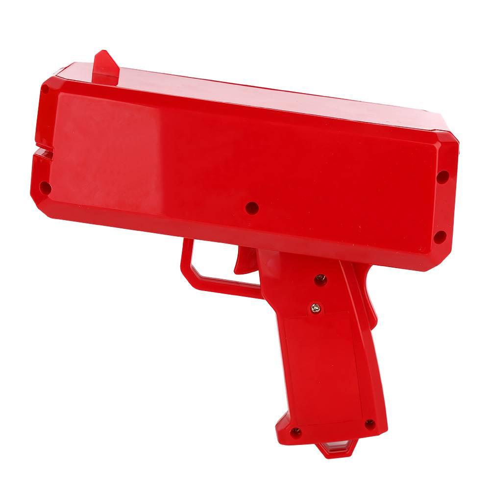 Doen Dower Contant Geld Pistool Speelgoed GrappigeGeld Gun met Originele doos en Papier Geld Party S