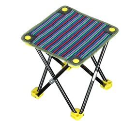 MyXL Draagbare klapstoelen outdoor picknick camping wandelen vissen barbecue tuin kruk stoel seatstatief voeten