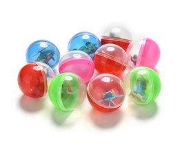 10 Stks/partij Grappig Plastic Speelgoed Bal Dier In Shilly Ei Ballen Kinderen Kids Babies Games