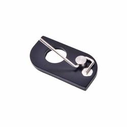 MyXL Rechterhand Rvs Arrow Rest Boogschieten RH Voor Recurve Boog Outdoor Tools Zwart