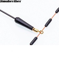 MyXL 19mm float rest vissen Gears Blok rotatie drift bobber rubber gemaakt alle voor vissen accessoires en leverancier 20 stks/partij