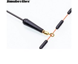 19mm float rest vissen Gears Blok rotatie drift bobber rubber gemaakt alle voor vissen accessoires en leverancier 20 stks/partij