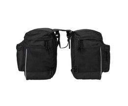 Fiets Eenzijdige Bagage Tas Waterdicht Grote Capaciteit MTB Bike Achter Rack Carrier Bag Outdoor Fietsen Fietstas