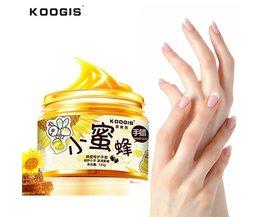 Handen Care Paraffinebad Therapie Handschoen Melk Honing Hand Wax Exfoliëren Hydrating Exfoliërende Voeden Whitening Hand Masker Huidverzorging