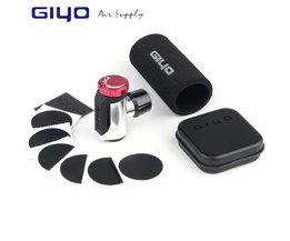 GIYO Co2 Pomp Voor Fiets Schrader Presta Adapter Bike Pomp Inflator Aluminium Tire Tube Mini Hand Fiets Pompen GEEN Co2 Cartridge