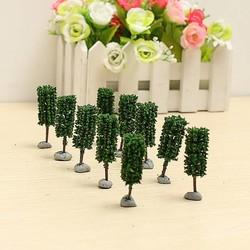 MyXL Modelbouw Miniatuur Bomen 4,5CM 10Stuks