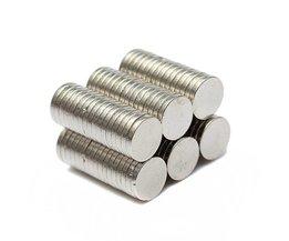 Kleine Magneetjes Neodymium 100Stuks