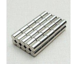Staafmagneet Neodymium N52 50Stuks