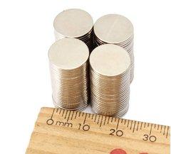 Ronde Neudymium N50 Magneten 100Stuks