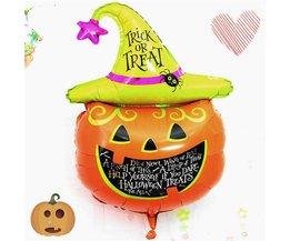 Halloween Pompoen Ballon
