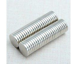 Kleine Magneetjes Neodymium N35 50Stuks