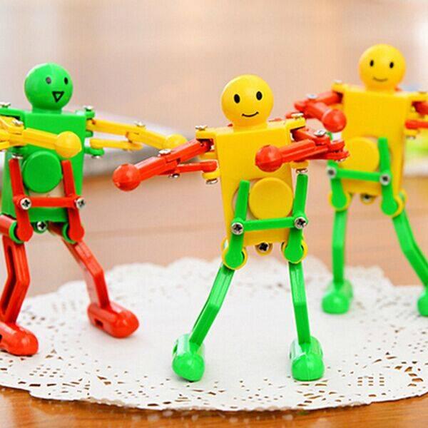 Opwindbaar Speelgoed Dansende Robot