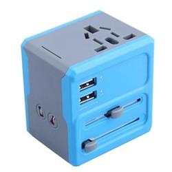 MyXL Universele Reisadapter met USB en Verschillende Aansluiting voor Stopcontact