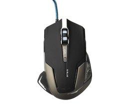 Gaming Muis E-Blue Mazer II 500 tot 2500DPI in het Zwart