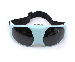 Massage Bril in het Blauw Gemaakt van ABS op Batterij