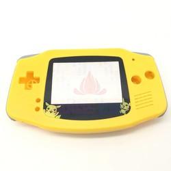 MyXL Voor Pokemon Pikachu Editie Geel Behuizing Shell Case Vervang Cover Voor Nintendo GBA Gameboy Advance