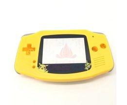 Voor Pokemon Pikachu Editie Geel Behuizing Shell Case Vervang Cover Voor Nintendo GBA Gameboy Advance