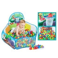 MyXL 1.2 m Draagbare Kinderen Kids Play Tenten Vouwen Baby Speelgoed Tenten Binnenkant Dier Patroon Schieten Basketbal Mand Oceaan Ballenbad