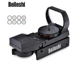 Holografische Reflex Rood Groen Dot Sight Scope Riflescope Jacht Tactische richtkijkers Picatinny Rail Mount 20mm Chasse Caza