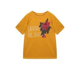 Aankomst rose bloem patches borduren applique kleding naaien patch DIY badge patch accessoires 1 stks verkoop