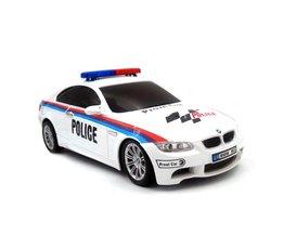 Licentie 1/18 RC Auto Model Voor BMW M3 Politieauto afstandsbediening radio control auto kids toys voor kinderen kerst geschenken