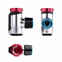 MyXL GIYO Co2 Pomp Voor Fiets Schrader Presta Adapter Bike Pomp Co2 Inflator Aluminium Tire Tube Mini Hand Fiets Pompen