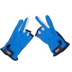 MyXL Overhandigen Vissen Handschoenen Buitensporten Ademend antislip Handschoenen 3 Laag Uitgesneden Vingers Beschermende Crossfit 1 Paar Beschermen apparatuur
