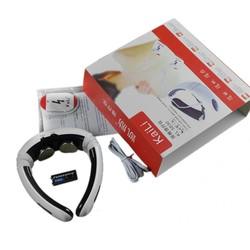 MyXL Elektrische Back Hals massager Impuls Halswervel Behandeling Instrument Acupunctuur magnetische therapie nekkussen stimulator