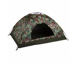 Outdoor Draagbare Enkele Laag Camping Tent Camouflage 2 Persoon Waterdichte Lichtgewicht Strand Vissen Jacht Tent Wigwam