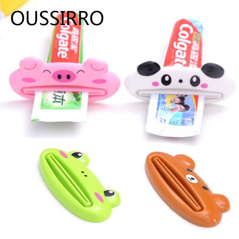 2 Stks Cartoon Buis Rolhouder Dispenser Tandpasta Squeezer Druk Tube Tandpasta Dispenser Keuken Badkamer Accessoires