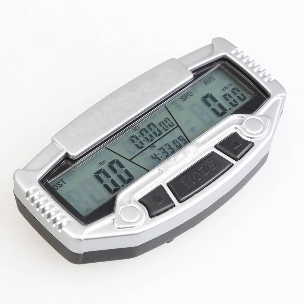 Digitale LCD Backlight Racefiets Computer Snelheidsmeter Stopwatch Kilometerteller Velocimetro Fiets