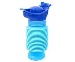 Draagbare Familie Unisex Mini Wc Urinoir Emmer voor Reizen en Kid Potty Pee Training 750 ML