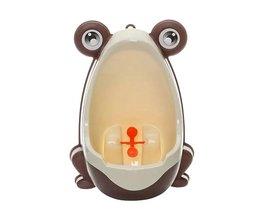Kikker Kinderen Potty Toilet Training Kids Urinoir voor Jongens Pee Trainer Badkamer