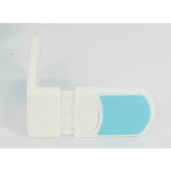 MyXL Kinderslot baby benodigdheden kleur dubbele snaps loodrecht op slot ladeblok Zuigeling Bescherming lock