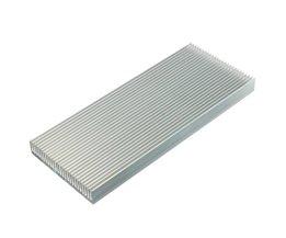 Aluminium Koellichaam Heatsink Voor High Power LED Versterker Transistor 100x41x8mmElektrische elektrische Keramiek