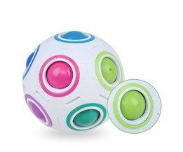 Strange-shape Magic Cube Fidget Speelgoed Bureau Speelgoed Anti Stress Regenboog Bal Voetbal Puzzels Stress Reliever Fidget Cube