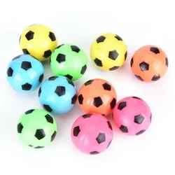MyXL 10 stks stuiterende voetbal bal rubber elastische springen kid outdoor bal toyswillekeurige kleur