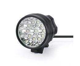 Fietsaccessoires Koplamp Zaklamp 28000LM 11 x CREE XM-T6 LED 8x18650 Fiets Licht Waterdichte Lamp