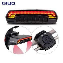 MyXL GIYO Laser Bike Achterlicht USB Oplaadbare LED Fietsen Achterlicht Lamp 85 Lumen Mount Rode Lantaarn Voor Fietslicht Accessoires