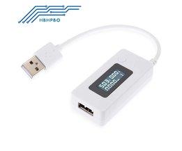 KCX-017 LCD USB Charger Computer PC Batterij Capaciteit Stroom Voltage Tester Meter Power Detector