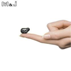 MyXL Q1 Q26 K8 mono kleine stereo oordopjes verborgen onzichtbare oortje micro mini draadloze headset bluetooth oortelefoon hoofdtelefoon voor telefoon