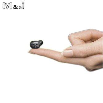 Q1 Q26 K8 mono kleine stereo oordopjes verborgen onzichtbare oortje micro mini draadloze headset bluetooth oortelefoon hoofdtelefoon voor telefoon