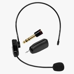 MyXL 2.4G Draadloze Microfoon Toespraak Headset Megafoon Radio Mic Voor Luidspreker Onderwijs Vergadering Gids Mic Met 6.5mm Adapter L3EF