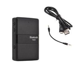 Bluetooth Stereo Zender En Ontvanger 2in1 Audio Muziek V4.1 3.5mm Aux Dongle Adapter voor iPod DVD TV PC Auto Home Stereo