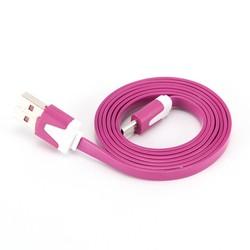 MyXL JETTING Universele Laadkabel 1 M USB Noodle Kabel Snelle Opladen Data Sync Line Voor Samsung HTC LG Sony Huawei