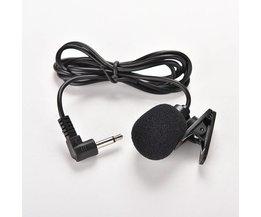 3.5mm Actieve Clip Microfoon met Mini USB Externe Mic Audio Adapter kabel voor Go Pro Hero 3 3 + 4 Sport Camera PC Laptop