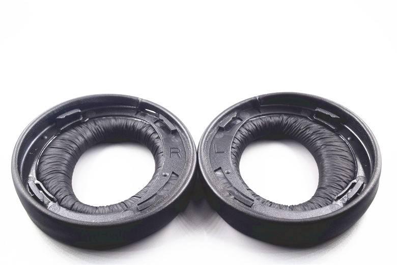 Originele black ear pad kussen oorbeschermer oorkussen voor sony goud draadloze ps3 ps4 7.1 virtual